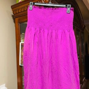 Old Navy Strapless/ Coverup Dress EUC NWOT SZ SM